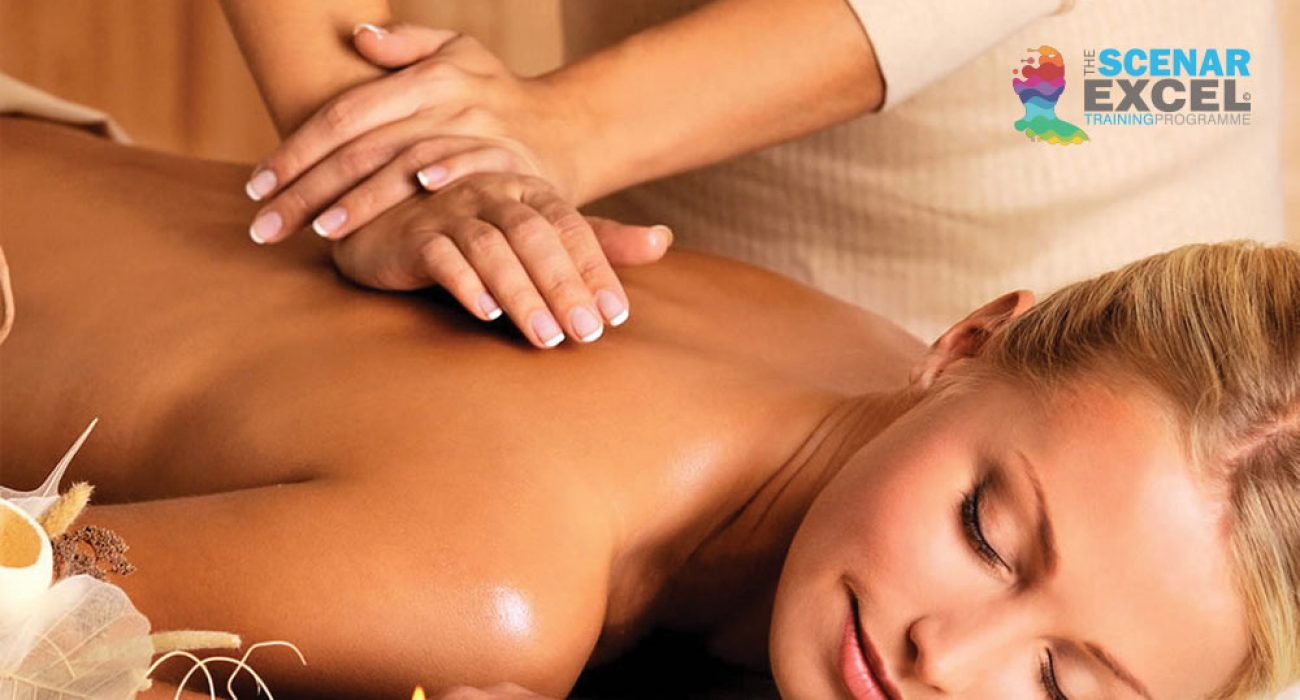 The importance of a regular massage. Lady having a massage
