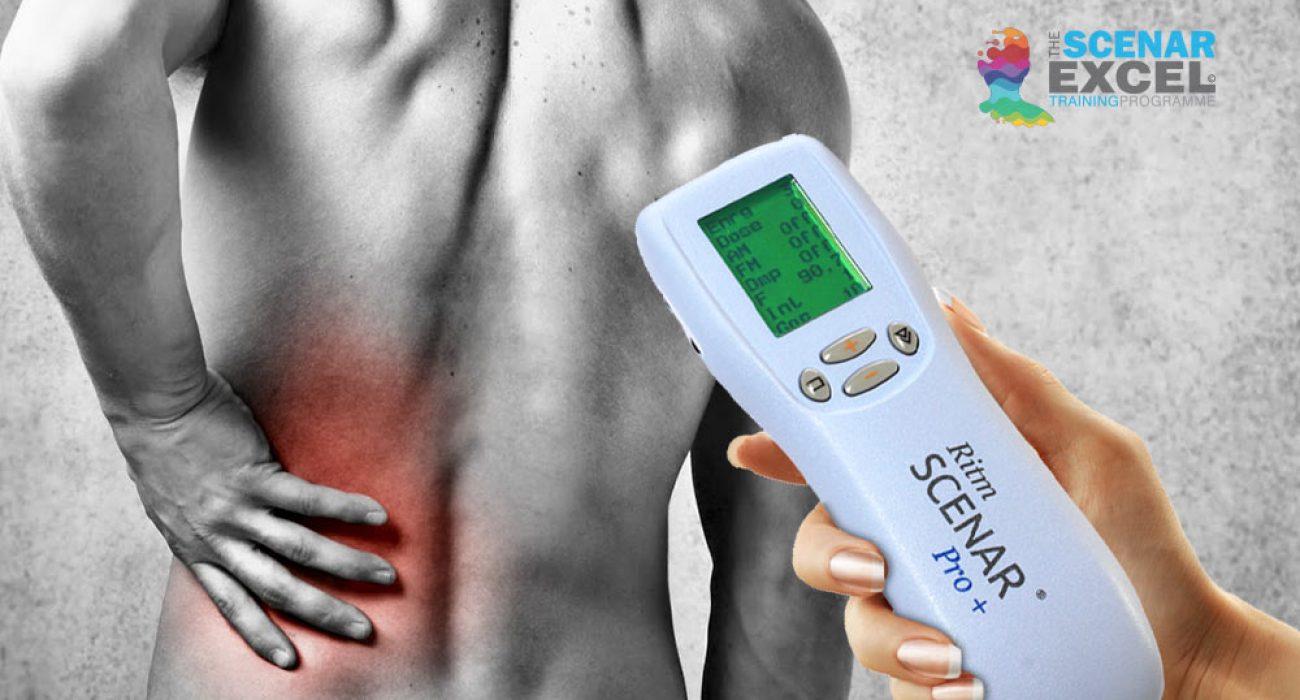 Treating sciatica with scenar